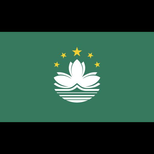 ensign, flag, macau, nation icon