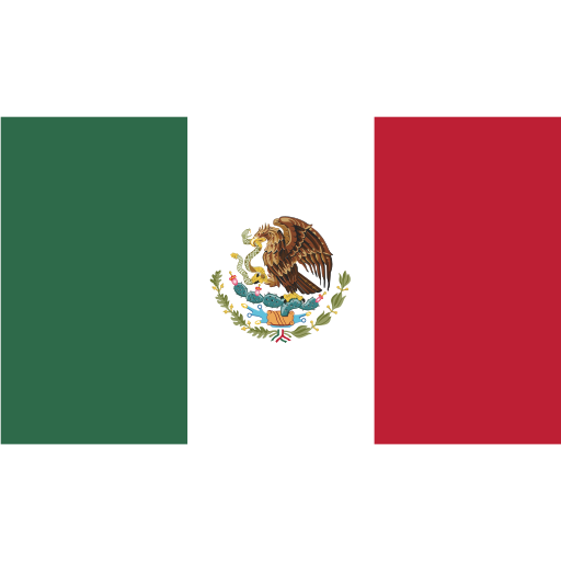ensign, flag, mexico, nation icon
