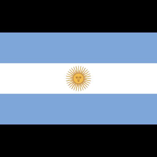 argentina, ensign, flag, nation icon