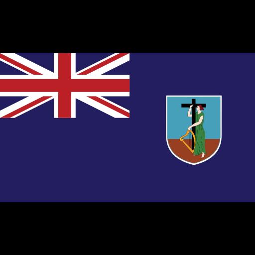 ensign, flag, montserrat, nation icon