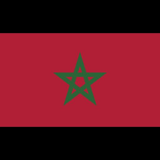 ensign, flag, morocco, nation icon