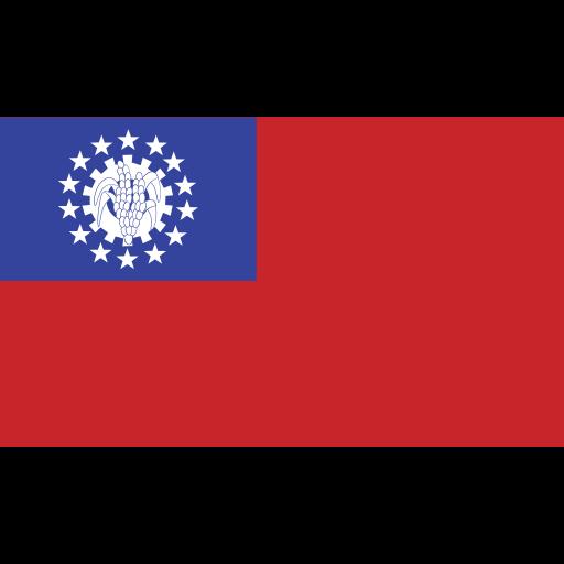 burma, ensign, flag, nation icon
