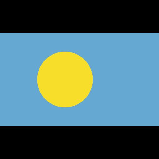 ensign, flag, nation, palau icon