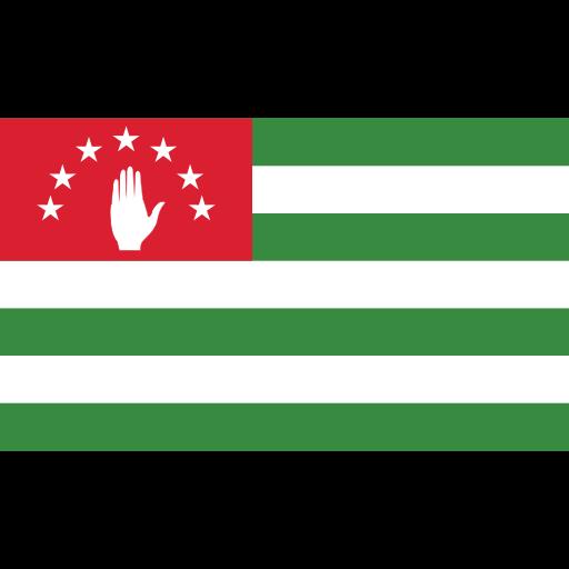 abkhazia, ensign, flag, nation icon