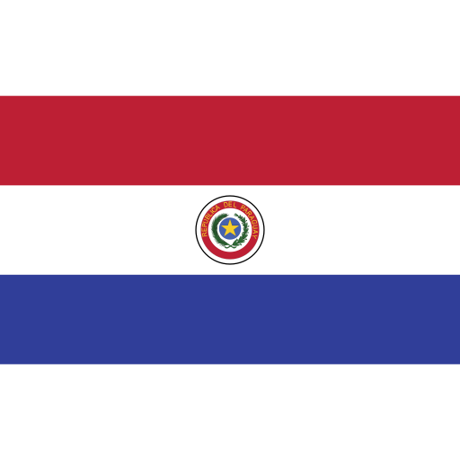 ensign, flag, nation, paraguay icon