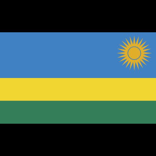ensign, flag, nation, rwanda icon