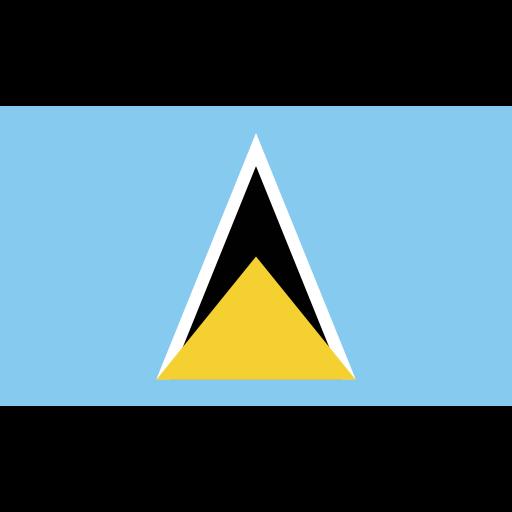 ensign, flag, lucia, nation icon