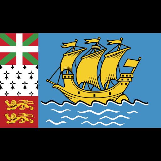 ensign, flag, miquelon, nation icon