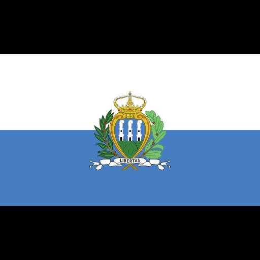ensign, flag, marino, nation, san icon