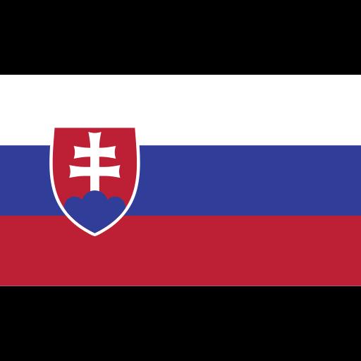 ensign, flag, nation, slovakia icon