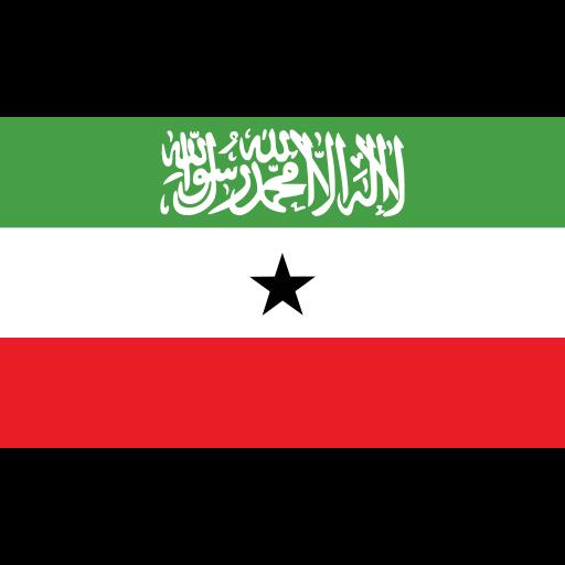 ensign, flag, nation, somaliland icon