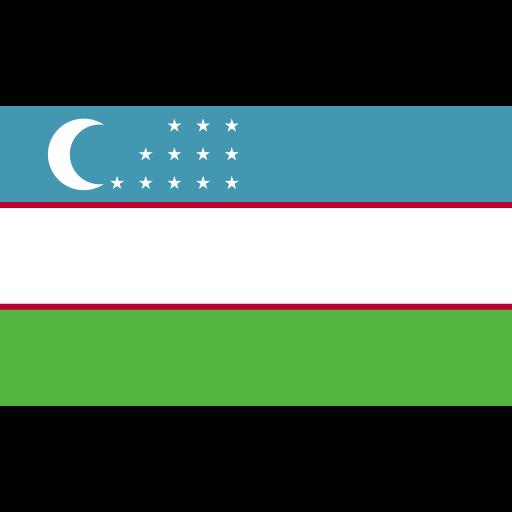 ensign, flag, nation, uzbekistan icon