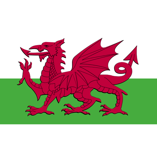 ensign, flag, nation, wales icon