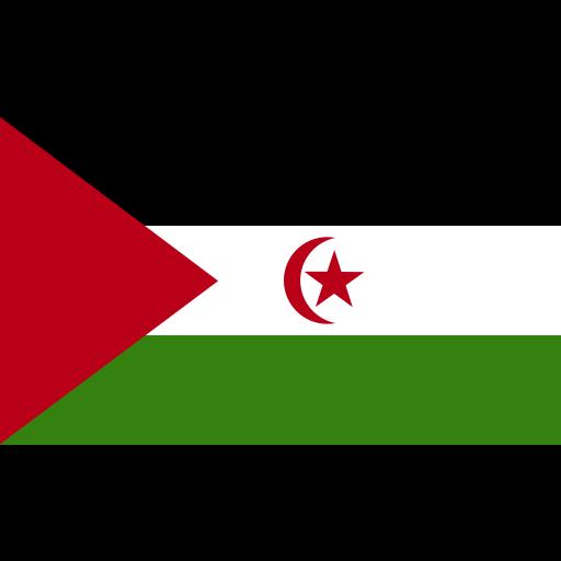 ensign, flag, nation, sahara icon