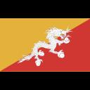 bhutan, ensign, flag, nation icon