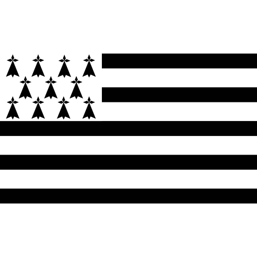 brittany, ensign, flag, nation icon