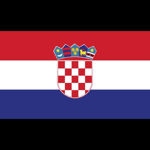 croatia, ensign, flag, nation icon