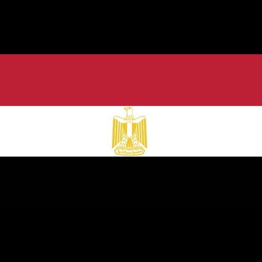 egypt, ensign, flag, nation icon