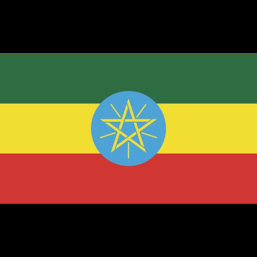 ensign, ethiopia, flag, nation icon