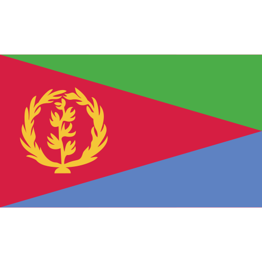 ensign, eritrea, flag, nation icon
