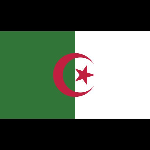 algeria, ensign, flag, nation icon