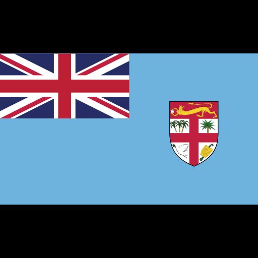 ensign, fiji, flag, nation icon