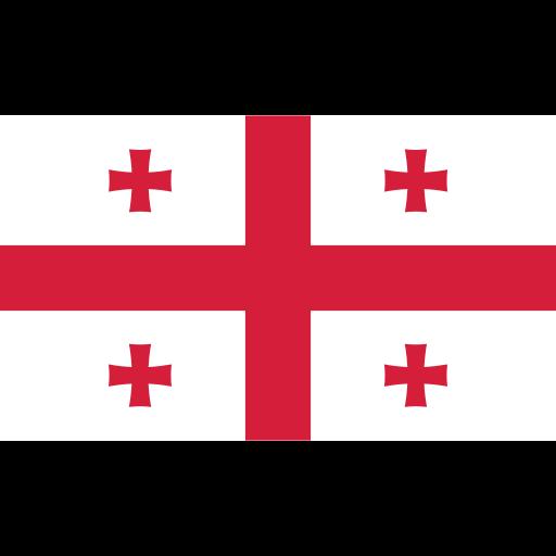 ensign, flag, georgia, nation icon