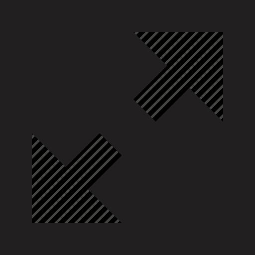 maximise, sign, window icon