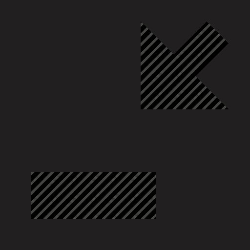 exit, sign, window icon