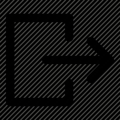 exit, exit fullscreen, minimize icon