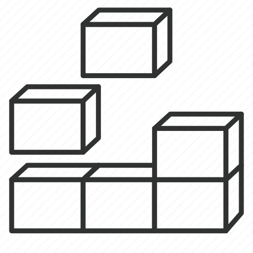 block, building, building block, component, enterpeise architecture, togaf, unit icon