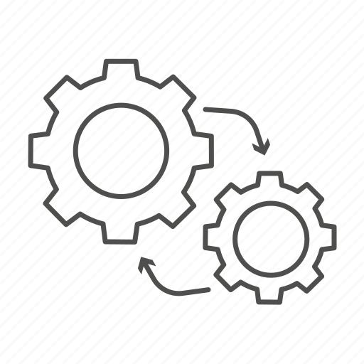 design, engineering, mechanism, method, methodology, methods, technology icon