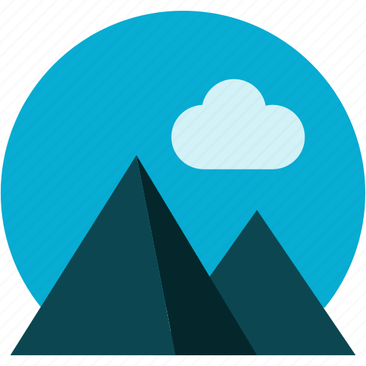 gallery, mount, mountain, nature, tools, universe icon