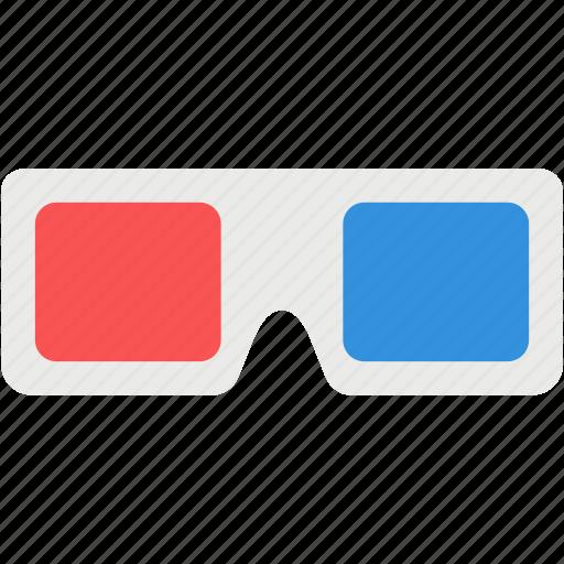 cinema, glasses, movie, optic, sunglasses, theater, tools icon