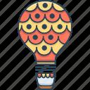 air, air balloon castle, ballon, castle, fly, travel