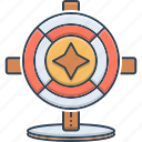 big, big six wheel, entertainment, wheel, wheel entertainment icon