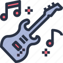 guitar, sound, entertainment, music