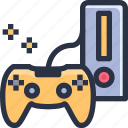 entertainment, game, game controller, joystick icon