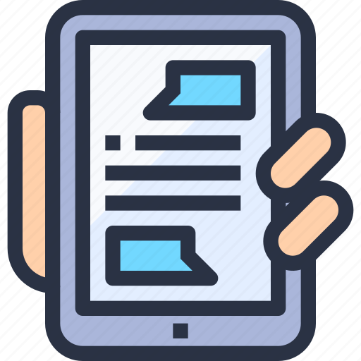 communication, device, entertainment, online, smartphone icon