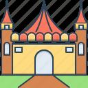 amusement, amusement park, carnival, funfair, park icon