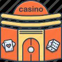 casino, gamble, gambling, poker, slots icon