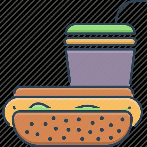 fast, fast food, food, junk, junk food, restaurant, unhealthy icon