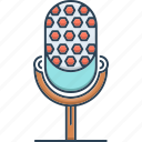 microphone, mike, speaker icon