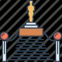 academy awards, award, awards, oscar, oscar award, red carpet icon