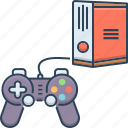 game, joystick, play, play station, station, video, video game icon