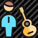 concert, guitarist icon