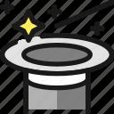 magician, show, hat