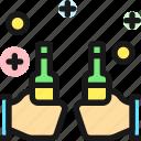 party, beer, cheers