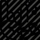 concert, ticket icon
