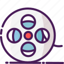 cinema, film, movie, multimedia, player, reel, video icon